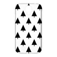 Scrap Background Spruce Christmas Samsung Galaxy S4 Classic Hardshell Case (pc+silicone) by Celenk