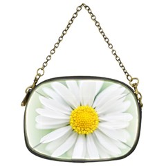 Art Daisy Flower Art Flower Deco Chain Purses (one Side)  by Celenk