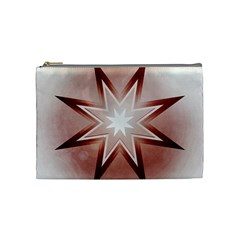 Star Christmas Festival Decoration Cosmetic Bag (medium)