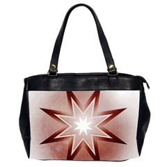 Star Christmas Festival Decoration Office Handbags (2 Sides)  by Celenk