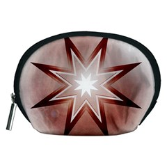 Star Christmas Festival Decoration Accessory Pouches (medium)  by Celenk