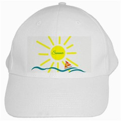 Summer Beach Holiday Holidays Sun White Cap