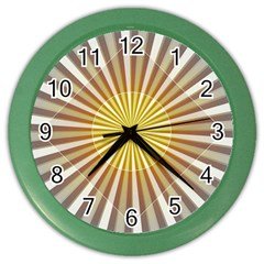 Abstract Art Modern Abstract Color Wall Clocks