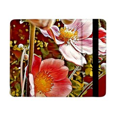 Flower Hostanamone Drawing Plant Samsung Galaxy Tab Pro 8 4  Flip Case by Celenk