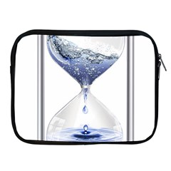 Time Water Movement Drop Of Water Apple Ipad 2/3/4 Zipper Cases by Celenk