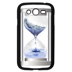 Time Water Movement Drop Of Water Samsung Galaxy Grand Duos I9082 Case (black) by Celenk