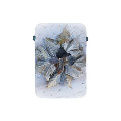 Winter Frost Ice Sheet Leaves Apple Ipad Mini Protective Soft Cases by Celenk