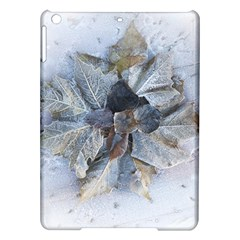 Winter Frost Ice Sheet Leaves Ipad Air Hardshell Cases by Celenk