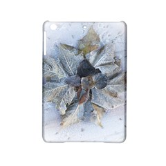 Winter Frost Ice Sheet Leaves Ipad Mini 2 Hardshell Cases by Celenk