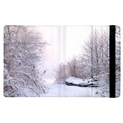 Winter Snow Ice Freezing Frozen Apple Ipad Pro 9 7   Flip Case by Celenk