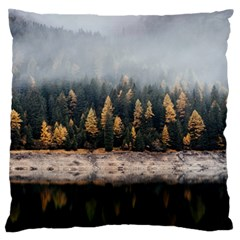 Trees Plants Nature Forests Lake Standard Flano Cushion Case (one Side)