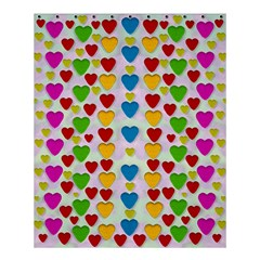 So Sweet And Hearty As Love Can Be Shower Curtain 60  X 72  (medium)  by pepitasart
