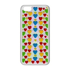 So Sweet And Hearty As Love Can Be Apple Iphone 5c Seamless Case (white) by pepitasart