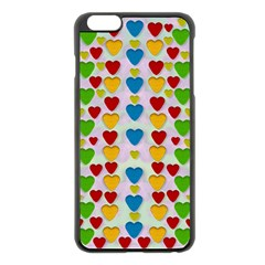 So Sweet And Hearty As Love Can Be Apple Iphone 6 Plus/6s Plus Black Enamel Case by pepitasart