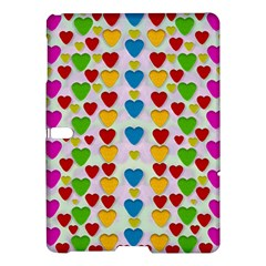 So Sweet And Hearty As Love Can Be Samsung Galaxy Tab S (10 5 ) Hardshell Case  by pepitasart