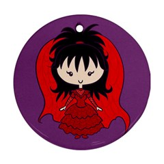 Lydia Deetz Bride Round Ornament