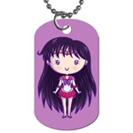 CutiE Mercury/Mars Dog Tag (Two-sided)  Back