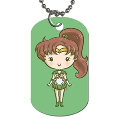 Cutie Jupiter/venus Dog Tag (two-sided)  by Ellador