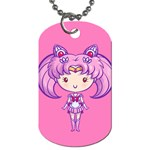 CutiE Pluto/Chibimoon Dog Tag (Two-sided)  Back
