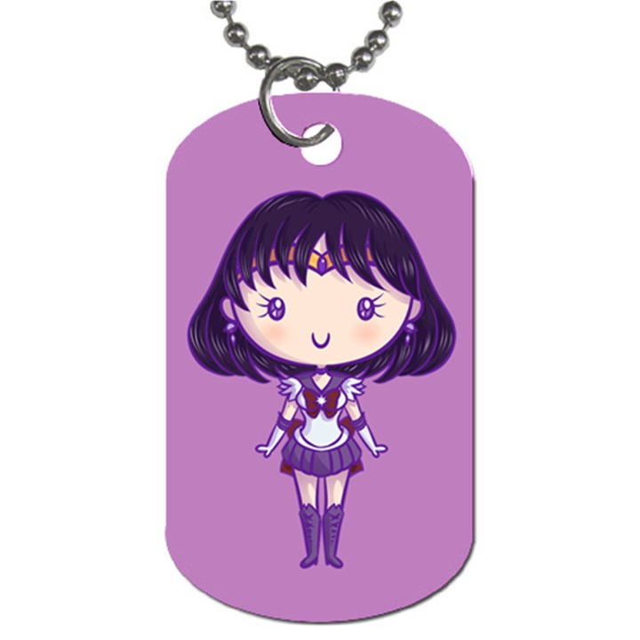 CutiE Saturn/Pluto Dog Tag (Two-sided)
