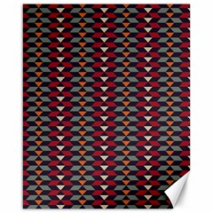 Native American Pattern 23 Canvas 16  X 20   by Cveti