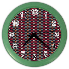 Native American Pattern 23 Color Wall Clocks