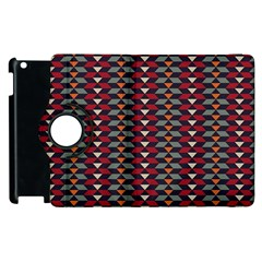 Native American Pattern 23 Apple Ipad 3/4 Flip 360 Case by Cveti