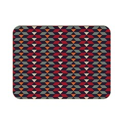 Native American Pattern 23 Double Sided Flano Blanket (mini)  by Cveti