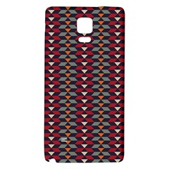 Native American Pattern 23 Galaxy Note 4 Back Case by Cveti
