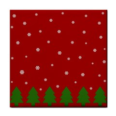 Christmas Pattern Face Towel