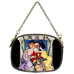 Vintage Santa Claus  Chain Purses (one Side)  by Valentinaart