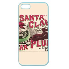 Vintage Santa Claus  Apple Seamless Iphone 5 Case (color) by Valentinaart