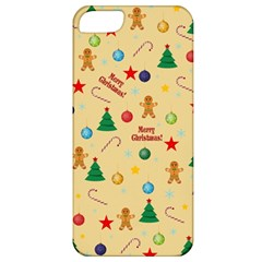 Christmas Pattern Apple Iphone 5 Classic Hardshell Case by Valentinaart