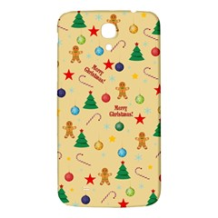 Christmas Pattern Samsung Galaxy Mega I9200 Hardshell Back Case by Valentinaart