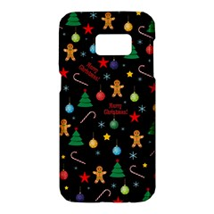 Christmas Pattern Samsung Galaxy S7 Hardshell Case  by Valentinaart