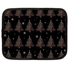 Christmas Tree   Pattern Netbook Case (xxl)