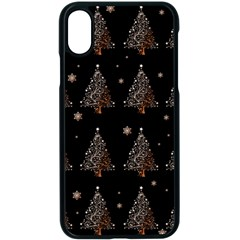 Christmas Tree   Pattern Apple Iphone X Seamless Case (black) by Valentinaart