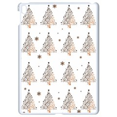 Christmas Tree   Pattern Apple Ipad Pro 9 7   White Seamless Case