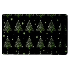 Christmas Tree   Pattern Apple Ipad 2 Flip Case by Valentinaart