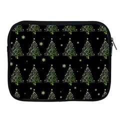 Christmas Tree   Pattern Apple Ipad 2/3/4 Zipper Cases by Valentinaart
