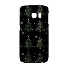 Christmas Tree   Pattern Galaxy S6 Edge by Valentinaart