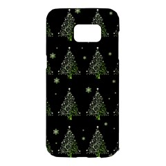 Christmas Tree   Pattern Samsung Galaxy S7 Edge Hardshell Case