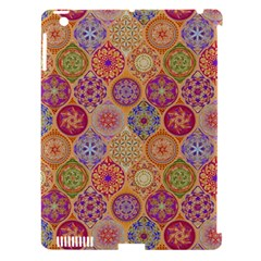 Bohemian Pattern Eye Orange Apple Ipad 3/4 Hardshell Case (compatible With Smart Cover) by Cveti