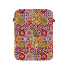 Bohemian Pattern Eye Orange Apple Ipad 2/3/4 Protective Soft Cases by Cveti