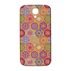 Bohemian Pattern Eye Orange Samsung Galaxy S4 I9500/i9505  Hardshell Back Case by Cveti