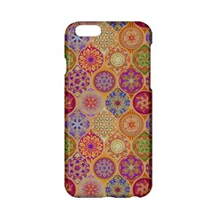 Bohemian Pattern Eye Orange Apple Iphone 6/6s Hardshell Case by Cveti