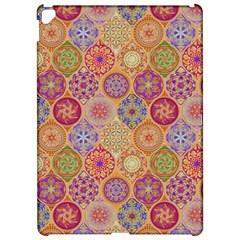 Bohemian Pattern Eye Orange Apple Ipad Pro 12 9   Hardshell Case by Cveti
