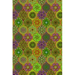 Bohemian Hand Drawing Patterns Green 01 5 5  X 8 5  Notebooks by Cveti
