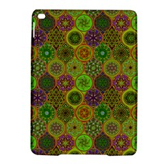 Bohemian Hand Drawing Patterns Green 01 Ipad Air 2 Hardshell Cases by Cveti