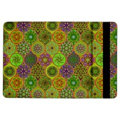 Bohemian Hand Drawing Patterns Green 01 Ipad Air 2 Flip by Cveti